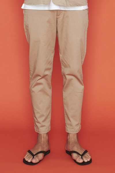 2020 S/S NUMBER (N)INE TAPERD STRETCH CHINO CROPPED PANTS