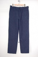 2012 A/W YAECA middle workpants indigo