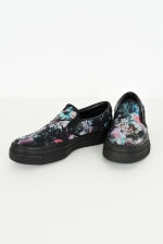 2019 S/S LAD MUSICIAN CANVAS SLIP-ON FLOWER