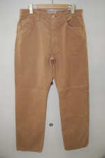 2013 S/S YAECA wide corduroy pants brown