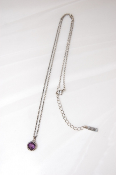 2012 S/A idealism soundネックレス12005A SILVER×AMETHYST