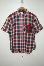 2014 S/S HOWL CHECK SHIRT RED×NAVY