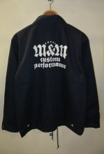 2019 S/S M&M PRINT T/C WINDBREAKER NAVY