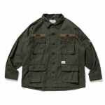 2019 S/S WTAPS JUNGLE LS 01 / SHIRT. NYCO. OXFORD