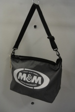 2019 S/S M&M SHOULDER BAG OD H.CHARCOAL