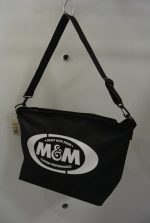 2019 S/S M&M SHOULDER BAG OD BLACK