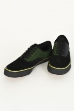 2021 S/S LAD MUSICIAN COW LEATHER/COTTON SNEAKER