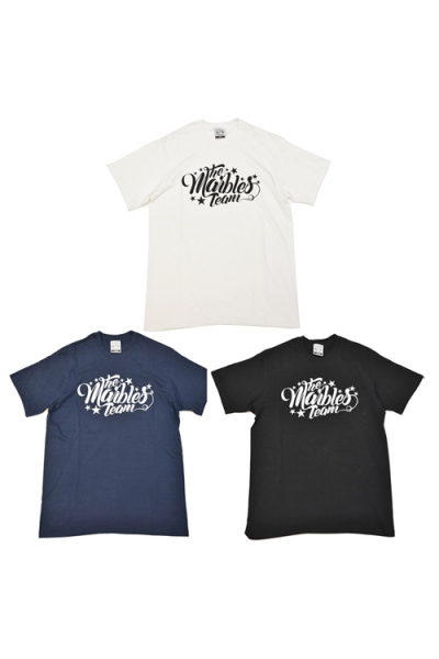 2018 S/S MARBLES S/S RUFFI JERSEY T-SHIRT #THE MARBLES TEAM