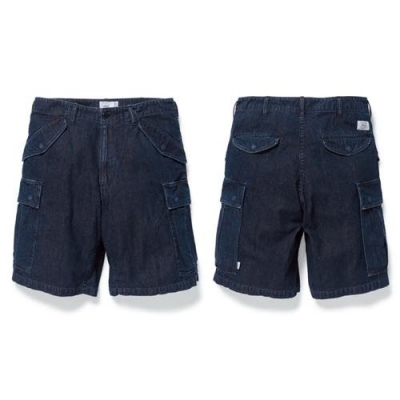 2018 S/S WTAPS CARGO SHORTS / SHORTS. COTTON. DENIM