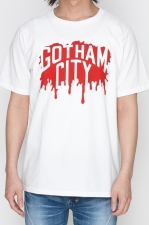 2018 A/W NUMBER (N)INE GOTHAM CITY PAINT_T-SHIRT
