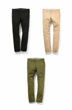 2017 A/W n(n) BY NUMBER (N)INE STRAIGHT PANTS _STRETCH CHINO