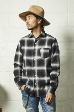 2020 A/W TMT HERRINGBONE OMBRE PLAID SHIRTS (TSHF2004)