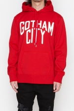 2018 A/W NUMBER (N)INE GOTHAM CITY__LARGE HOODY SWEATSHIRT