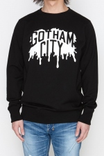 2018 A/W NUMBER (N)INE GOTHAM CITY PAINT_REGULAR SWEATSHIRT
