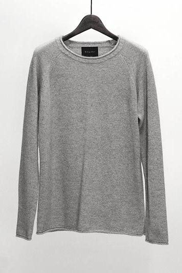 2018 A/W LOUNGE LIZARD RACCOON FOX KNIT PULLOVER