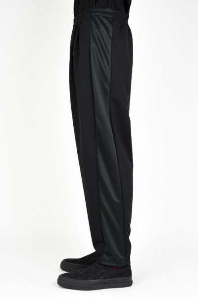 2019 A/W LAD MUSICIAN ESTER JERSEY 2TUCK TAPERED WIDE PANTS