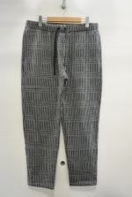 2015 A/W JAMA RICO Glen Check C/S Pants GREY