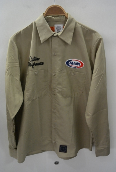 2018 A/W M&M WORK L/S SHIRT KHAKI
