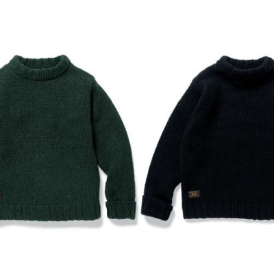 2016 A/W WTAPS ARAN KNIT / SWEATER. WOOL